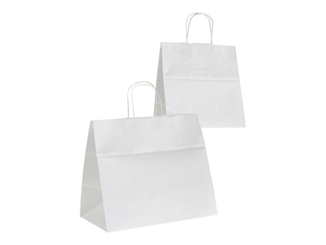 BUSTA RITORTA TAKE AWAY BIANCA 32+19X34
